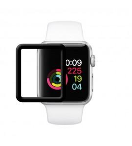 Película Premium HPrime Apple Watch 38mm [Preto] - ColorGlass 6D (Cobre a parte curva da tela)