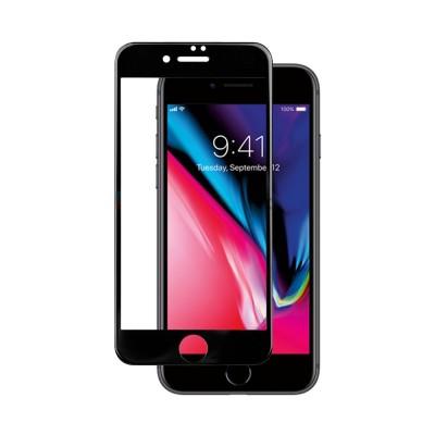 Película Premium HPrime Apple iPhone 7 / iPhone 8 [Preto] - ColorGlass 6D (Cobre a parte curva da tela)