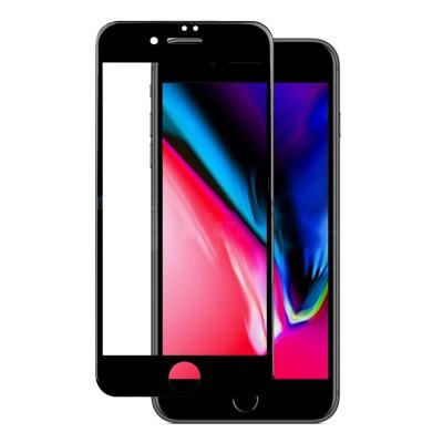 Película Premium HPrime Apple iPhone 7 Plus / iPhone 8 Plus [Preto] - ColorGlass 6D (Cobre a parte curva da tela)