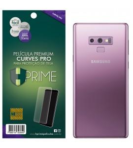 Película Premium HPrime Samsung Galaxy Note 9 - VERSO - Curves PRO (Se adere na parte curva da tela)