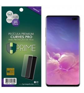 Película Premium HPrime Samsung Galaxy S10 Plus - Curves PRO (Se adere na parte curva da tela)