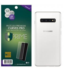 Película Premium HPrime Samsung Galaxy S10 Plus - VERSO - Curves PRO (Se adere na parte curva da tela)
