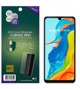 Película Premium HPrime Huawei P30 Lite - Curves PRO (Se adere na parte curva da tela)