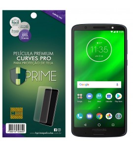 Película Premium HPrime Motorola Moto G6 Plus - Curves PRO (Se adere na parte curva da tela)