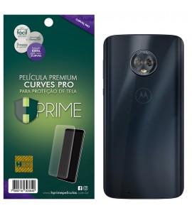 Película Premium HPrime Motorola Moto G6 Plus - VERSO - Curves PRO (Se adere na parte curva da tela)