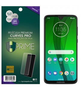 Película Premium HPrime Motorola Moto G7 / Moto G7 Plus  - Curves PRO (Se adere na parte curva da tela)