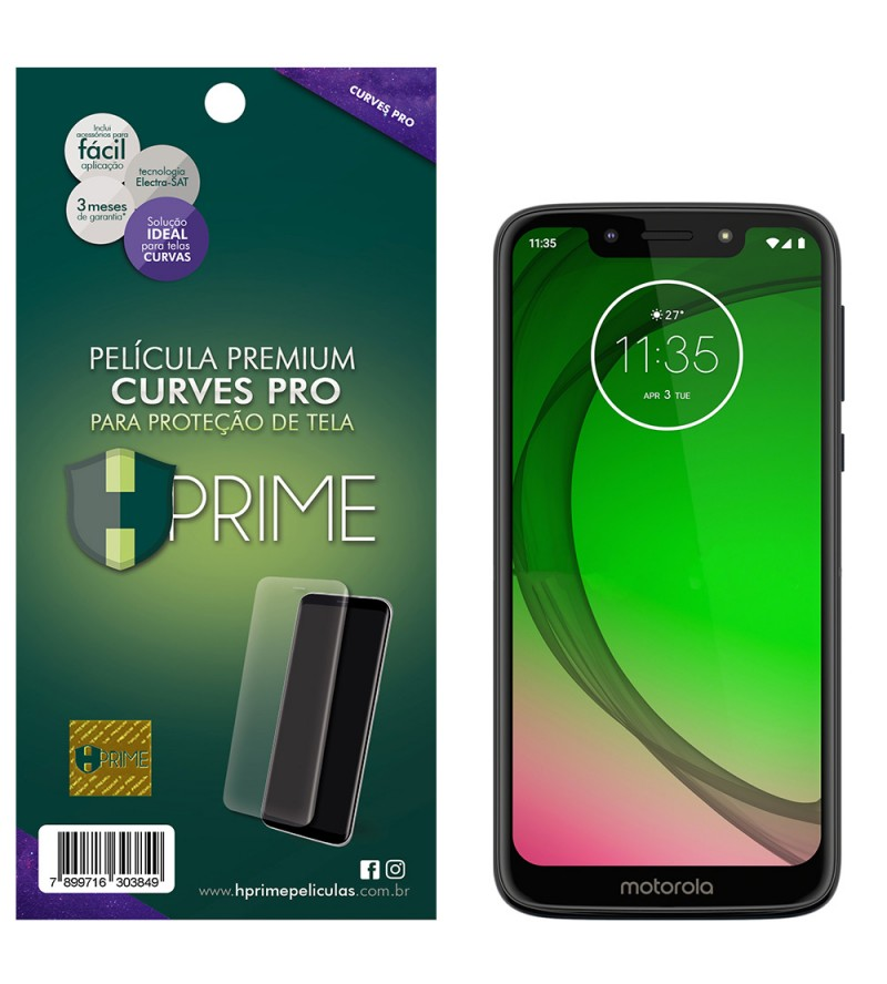 Película Premium HPrime Motorola Moto G7 Play - Curves PRO (Se adere na parte curva da tela)