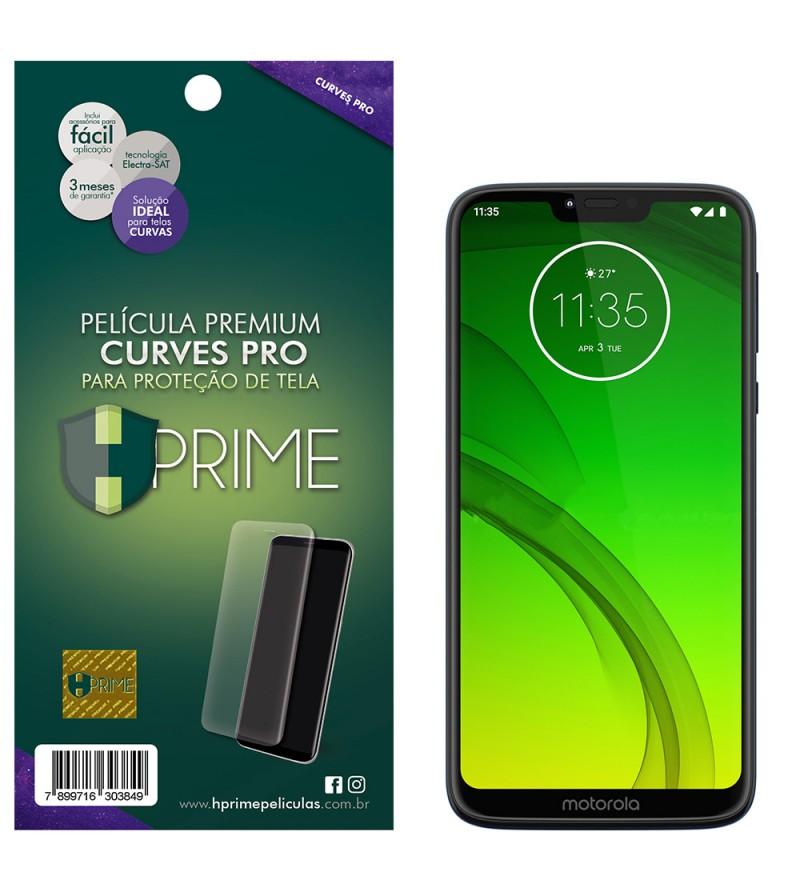 Película Premium HPrime Motorola Moto G7 Power - Curves PRO (Se adere na parte curva da tela)
