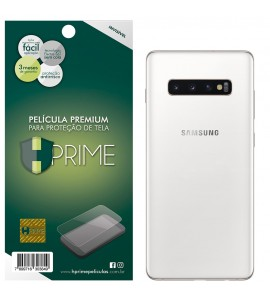 Película Premium HPrime Samsung Galaxy S10 Plus - VERSO - PET Invisível
