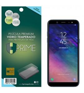 Película Vidro Temperado Premium HPrime Samsung Galaxy A6 2018
