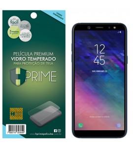 Película Vidro Temperado Premium HPrime Samsung Galaxy A6 Plus 2018