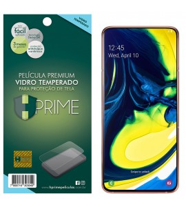 Película Vidro Temperado Premium HPrime Samsung Galaxy A80