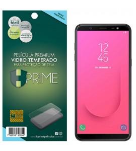 Película Vidro Temperado Premium HPrime Samsung Galaxy J8