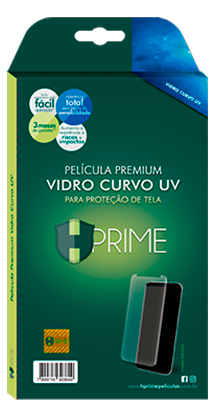 película premium color glass celular hprime